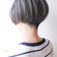 刈り上げ ボブ ショート ショートボブ ヘアスタイルや髪型の写真・画像