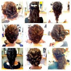 ロング 外国人風 結婚式 ストリート ヘアスタイルや髪型の写真・画像
