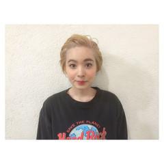アッシュ 外国人風 前髪あり ハイライト ヘアスタイルや髪型の写真・画像