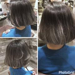 リラックス 色気 ボブ ナチュラル ヘアスタイルや髪型の写真・画像