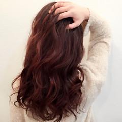 ベージュ ピンクアッシュ ピュア ガーリー ヘアスタイルや髪型の写真・画像