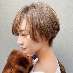 ミニボブ ショートボブ ショートヘア 大人可愛い ヘアスタイルや髪型の写真・画像