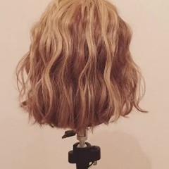 ヘアアレンジ 三つ編み ボブ ロープ編み ヘアスタイルや髪型の写真・画像