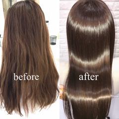 セミロング 美髪 髪質改善 デート ヘアスタイルや髪型の写真・画像