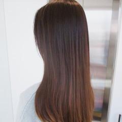 外国人風 ロング イルミナカラー モテ髪 ヘアスタイルや髪型の写真・画像