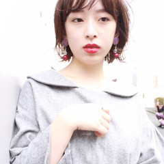 小顔 ガーリー 大人女子 女子力 ヘアスタイルや髪型の写真・画像