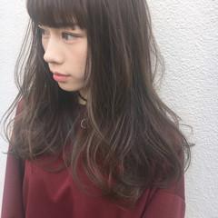 外国人風 外国人風カラー ナチュラル 暗髪 ヘアスタイルや髪型の写真・画像