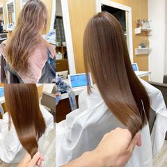 髪質改善トリートメント ロング TOKIOトリートメント 銀座美容室 ヘアスタイルや髪型の写真・画像
