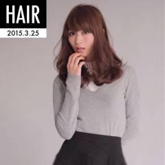 愛され フェミニン 春 モテ髪 ヘアスタイルや髪型の写真・画像