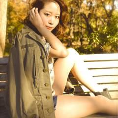 モテ髪 ナチュラル ミディアム 大人かわいい ヘアスタイルや髪型の写真・画像