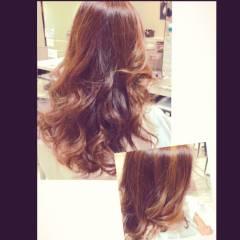 ハイライト 巻き髪 ロング 大人かわいい ヘアスタイルや髪型の写真・画像