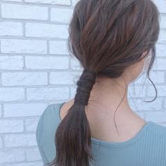 セルフアレンジ ふわふわヘアアレンジ ヘアアレンジ 簡単ヘアアレンジ ヘアスタイルや髪型の写真・画像