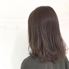 暗髪 冬 ナチュラル ボブ ヘアスタイルや髪型の写真・画像