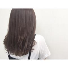 グラデーションカラー 暗髪 イルミナカラー アッシュ ヘアスタイルや髪型の写真・画像