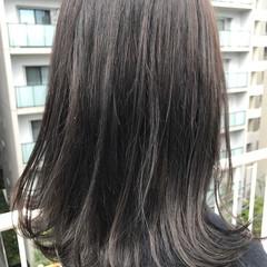 ストリート アッシュグレージュ 秋 透明感 ヘアスタイルや髪型の写真・画像