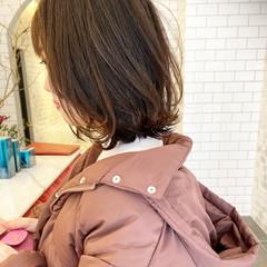 トリートメント ショートヘア ミディアム ナチュラル ヘアスタイルや髪型の写真・画像