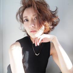 パーマ かっこいい コンサバ ピュア ヘアスタイルや髪型の写真・画像
