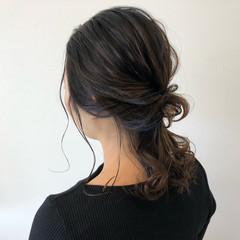 簡単ヘアアレンジ ヘアアレンジ 抜け感 外国人風 ヘアスタイルや髪型の写真・画像