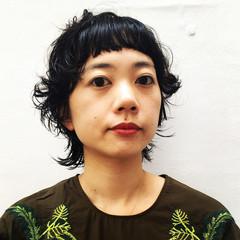 くせ毛風 パーマ 外国人風 ストリート ヘアスタイルや髪型の写真・画像