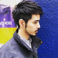メンズヘア メンズカット メンズカジュアル ストリート ヘアスタイルや髪型の写真・画像