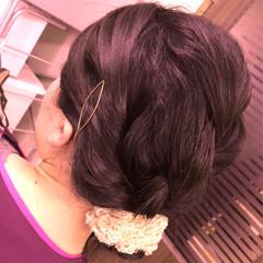 ショート ロング ゆるふわ 簡単ヘアアレンジ ヘアスタイルや髪型の写真・画像