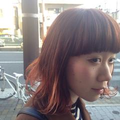 グラデーションカラー 外国人風 ナチュラル ハイトーン ヘアスタイルや髪型の写真・画像