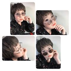 ボーイッシュ ベリーショート フェミニン 抜け感 ヘアスタイルや髪型の写真・画像