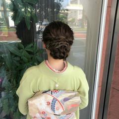 ヘアアレンジ ロング エレガント 成人式ヘアメイク着付け ヘアスタイルや髪型の写真・画像