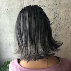 ストリート ハイライト 透明感 グラデーションカラー ヘアスタイルや髪型の写真・画像