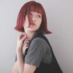 切りっぱなしボブ ショートボブ ボブ ミニボブ ヘアスタイルや髪型の写真・画像