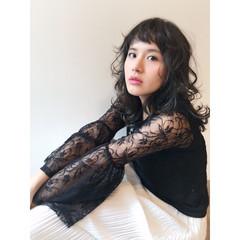 フェミニン アッシュ ゆるふわ 大人かわいい ヘアスタイルや髪型の写真・画像