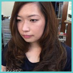 ロング ゆるふわ パーマ デジタルパーマ ヘアスタイルや髪型の写真・画像