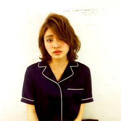 大人女子 ガーリー 外国人風 ボブ ヘアスタイルや髪型の写真・画像