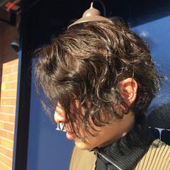 パーマ イルミナカラー 外国人風 ストリート ヘアスタイルや髪型の写真・画像