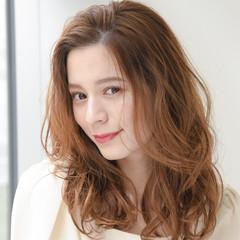 フェミニン 大人かわいい ゆるナチュラル ピュア ヘアスタイルや髪型の写真・画像