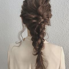 エレガント 秋 結婚式 透明感 ヘアスタイルや髪型の写真・画像