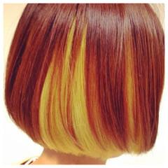 グラデーションカラー 暗髪 レイヤーカット 外国人風 ヘアスタイルや髪型の写真・画像