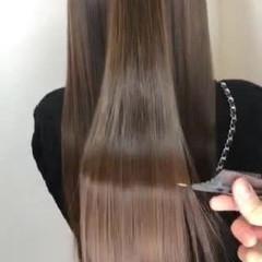 エレガント 髪質改善 髪質改善トリートメント ロング ヘアスタイルや髪型の写真・画像
