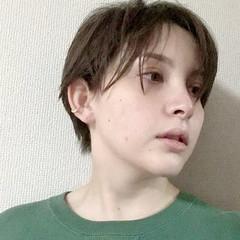 ナチュラル ショートヘア 切りっぱなしボブ ベリーショート ヘアスタイルや髪型の写真・画像