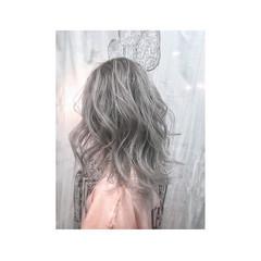 外国人風 ゆるふわ ストリート 大人かわいい ヘアスタイルや髪型の写真・画像