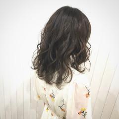 透明感 大人かわいい 秋 デート ヘアスタイルや髪型の写真・画像