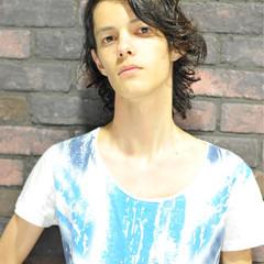 くせ毛風 ストリート ショート パーマ ヘアスタイルや髪型の写真・画像