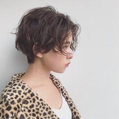 センターパート ショート ストリート 外国人風 ヘアスタイルや髪型の写真・画像