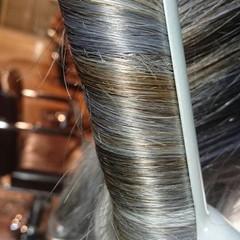 渋谷系 ロング ストリート グラデーションカラー ヘアスタイルや髪型の写真・画像