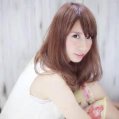 モテ髪 愛され 大人かわいい フェミニン ヘアスタイルや髪型の写真・画像