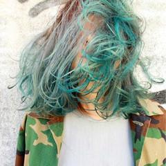 大人かわいい 外国人風 黒髪 グラデーションカラー ヘアスタイルや髪型の写真・画像
