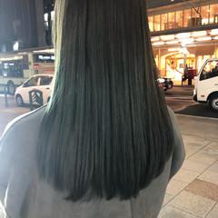 アッシュ 外国人風カラー モード アッシュグレージュ ヘアスタイルや髪型の写真・画像