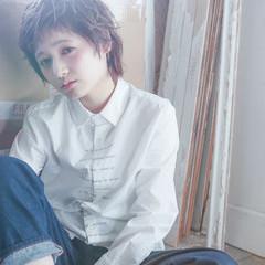大人かわいい ゆるふわ ショート 外国人風 ヘアスタイルや髪型の写真・画像