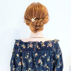 デート ショート 簡単ヘアアレンジ ヘアアレンジ ヘアスタイルや髪型の写真・画像
