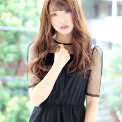 おフェロ 秋 ピンク ガーリー ヘアスタイルや髪型の写真・画像